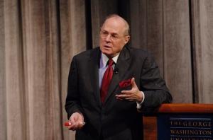 Supreme Court Justice Anthony M. Kennedy keynotes the 2009 GW Law Symposium. Claire Duggan/GW Law